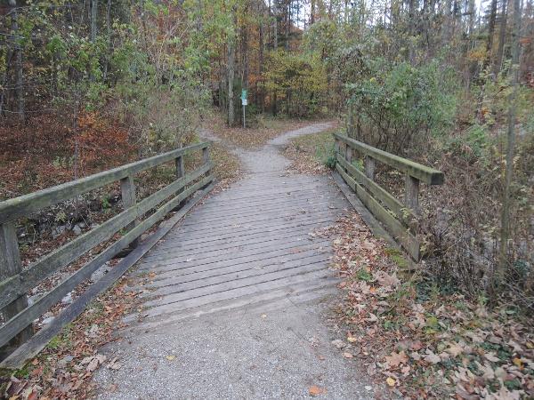 Über eine Brücke...
