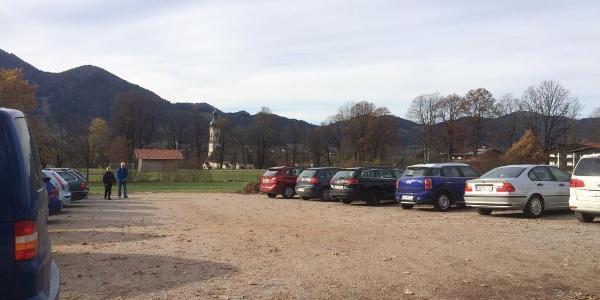 Parkplatz an der Isarwelle