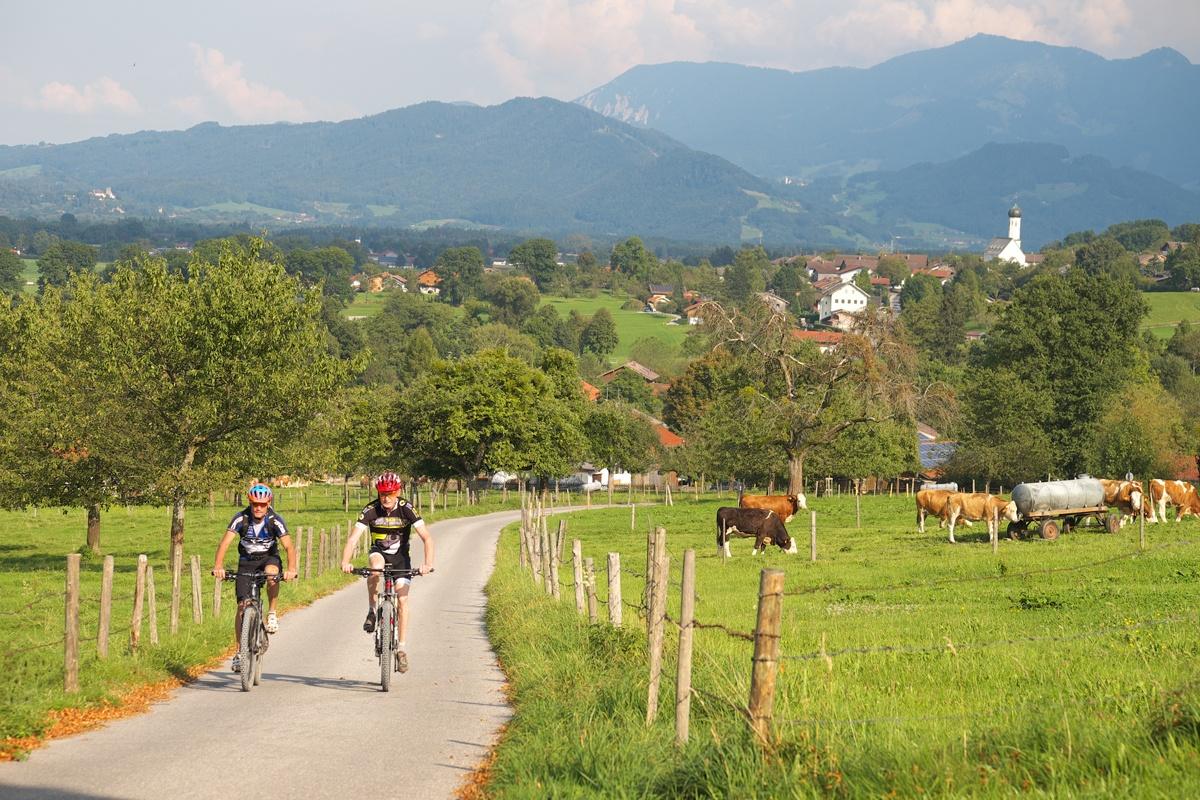 Mountainbiketour um Bad Feilnbach