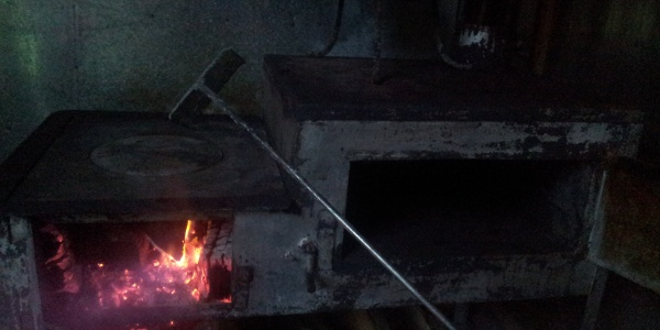 Stove -  fireplace - for cooking