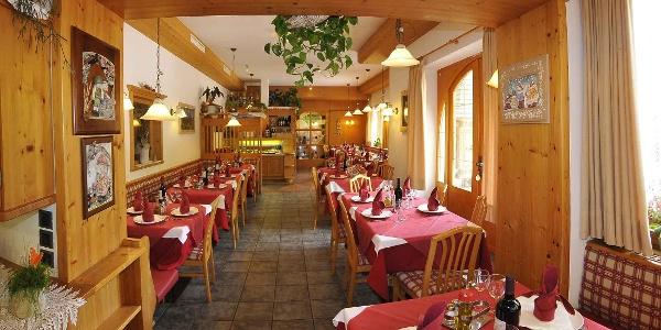 sala pranzo-Albergo Nido Verde
