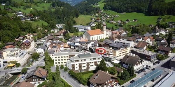 TOPLAGE Zentrum Schruns