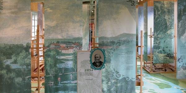 Blick in die Rheinausstellung