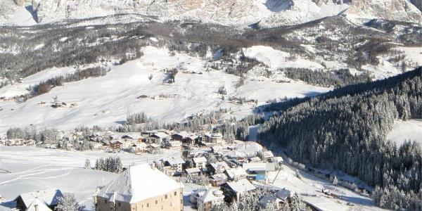 Winterwanderung La Villa - Ruac - Corvara