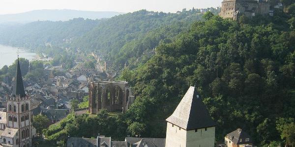 Bacharach und Burg Stahleck