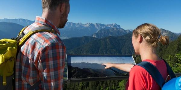 Bergtour - Laber, am Gipfel