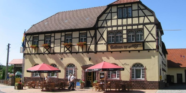 """Hotel & Restaurant """"Zur Kanone"""" Außenansicht"""