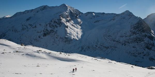 Herrliches Skitourengelände