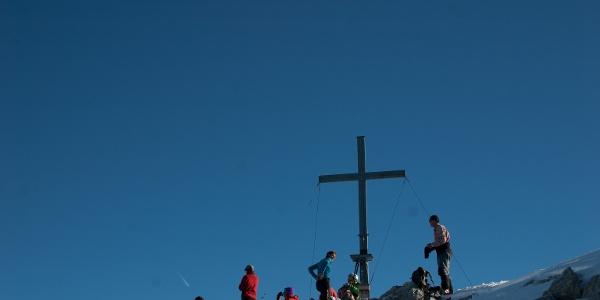 Am Gipfel dann...