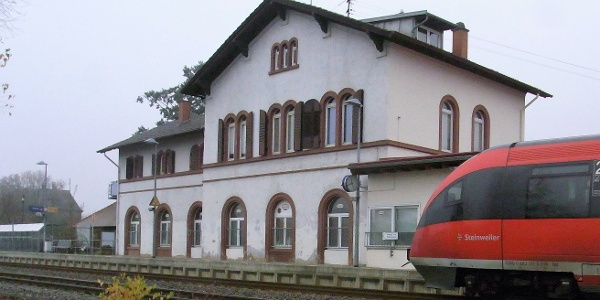 Wanderbahnhof Maikammer-Kirrweiler in Kirrweiler