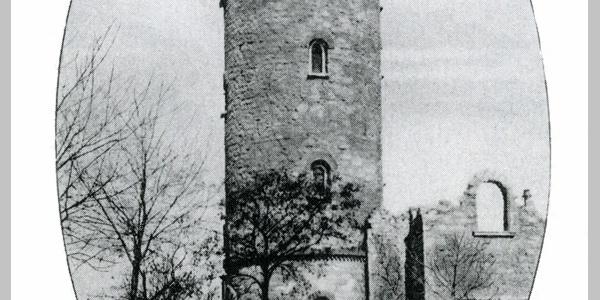Historische Fotografie von 1902 - Ferberturm - Gera