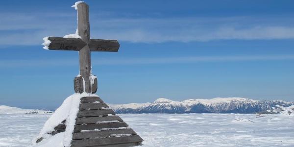 Gipfelkreuz Hochwechsel