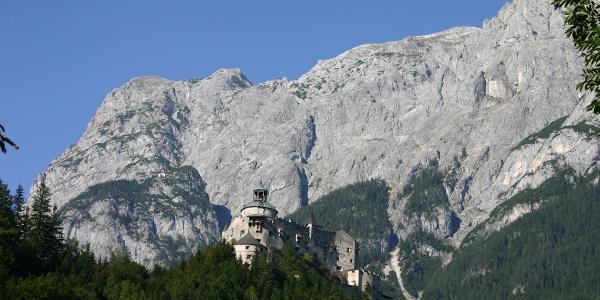 Aussicht auf Burg Hohenwerfen
