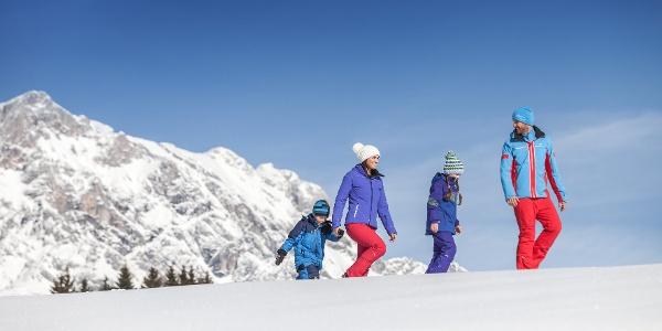 Winterwandern zur Steinbockalm