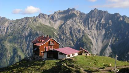 Kaltenberghütte und Lechtaler Alpen