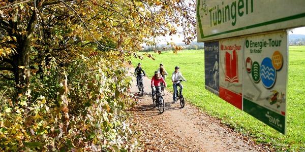 Unterwegs auf der Energie-Tour für Kinder