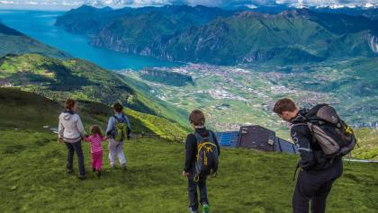 Auf dem Gipfel des Monte Stivo