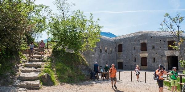 Die Festungen auf dem Monte Brione