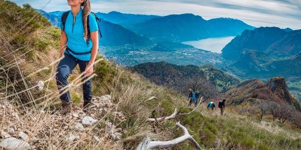 Aufstieg auf den Monte Misone