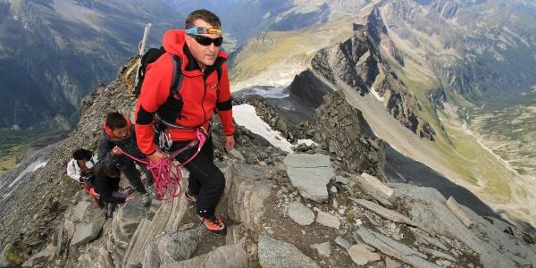 Mit staatlich geprüftem Bergführer sicher geführt auf den Ankogel