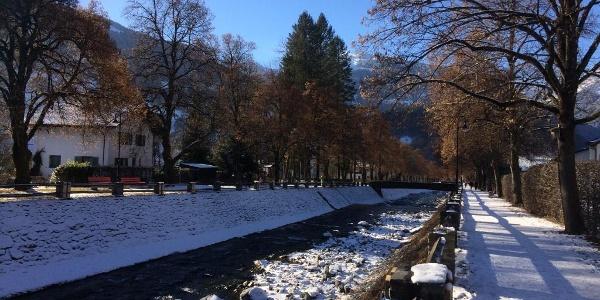 Litzpromenade im Winter