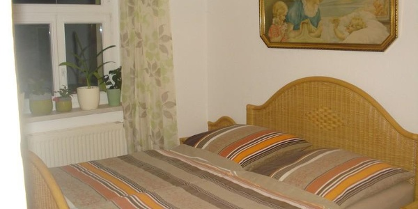 Fewo Jubelt Schlafzimmer