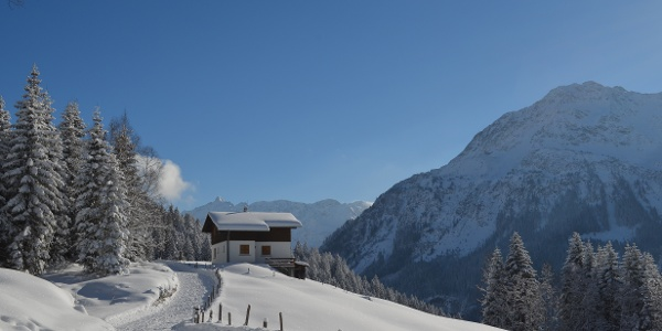 Winter- und Schneeschuhroute