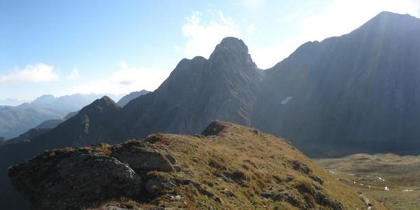 Eindrucksvoll der Rosskopf, 2603 m