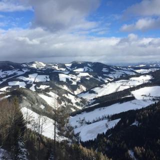 Blick nach Osten, Richtung Birkfeld