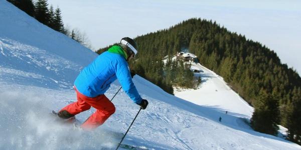 Skiroute Tegelbergbahn