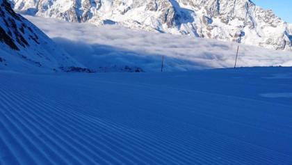 Glrtscherpiste Hohsaas, Skigebiet Saas-Grund