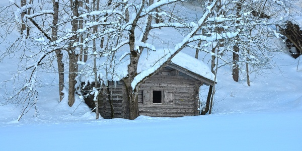 Winteridyll im Islatal