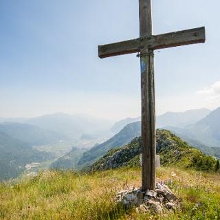 La cima del Monte Brento