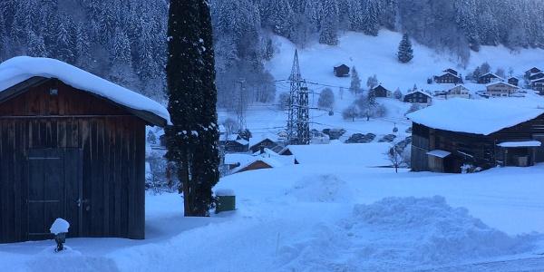 Winterwandern in St. Gallenrkich