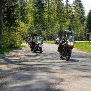 Grenzenloses Bikervergnügen