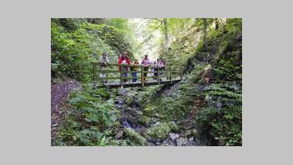 Wanderung Taubenbachklamm