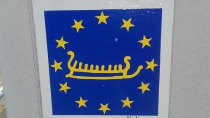 Wegmarkierung Europäischer Kulturweg