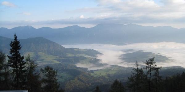 Blick von der Zellerhütte Richtung Vorderstoder (05.10.2014)