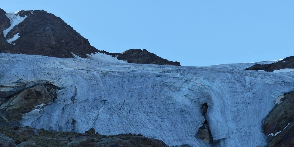 Direkt am Gletscher