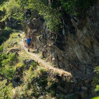 Unterer Felsenweg - Hochmuter