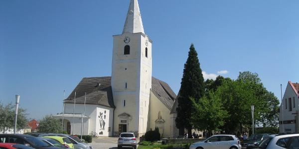St. Margarethen, die erste Ortschaft nach Rust.