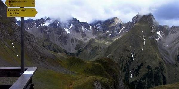 Parseierspitze andersrum (16. September 2010)