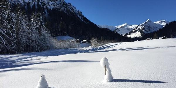 Winterwandern von Bödmen nach Baad