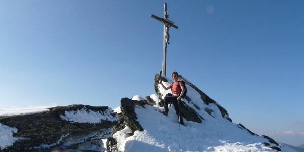 Seiner Kreuz im Winter
