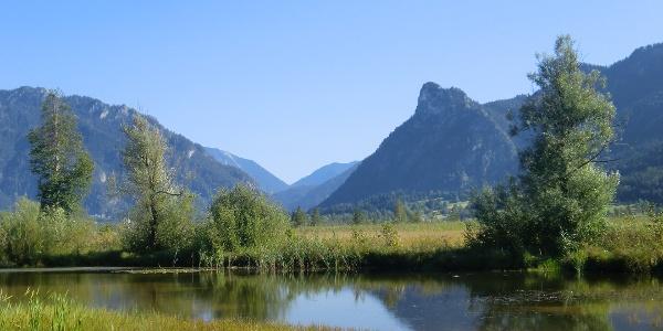 Weg von Unterammergau nach Oberammergau