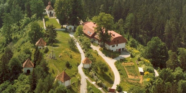 Luftaufnahme vom Heiligen Berg