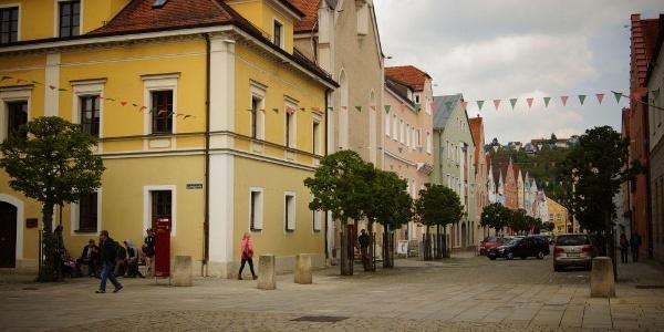 Kelheim mit historischer Altstadt