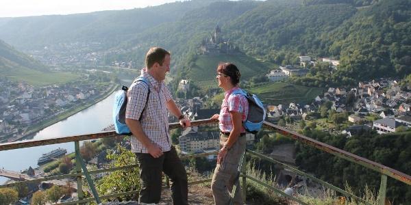 Blick vom Aussichtspunkt Pinnerkreuz