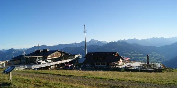 Bergstation Golmerbahn, Grüneck