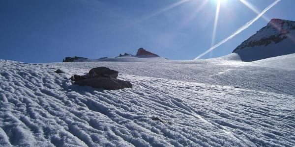 Kleines Fleißkees mit Sonnblick-Gipfel
